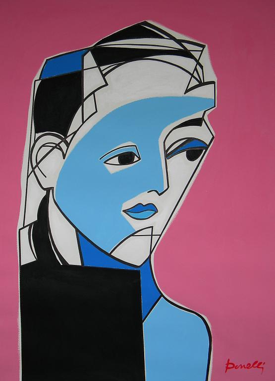 Ritratto di Dora Maar  - Gabriele Donelli - Acrilico - 1500 €