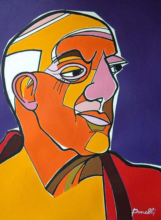 Ritratto di Pablo Picasso  - Gabriele Donelli - Acrilico - 2100 €