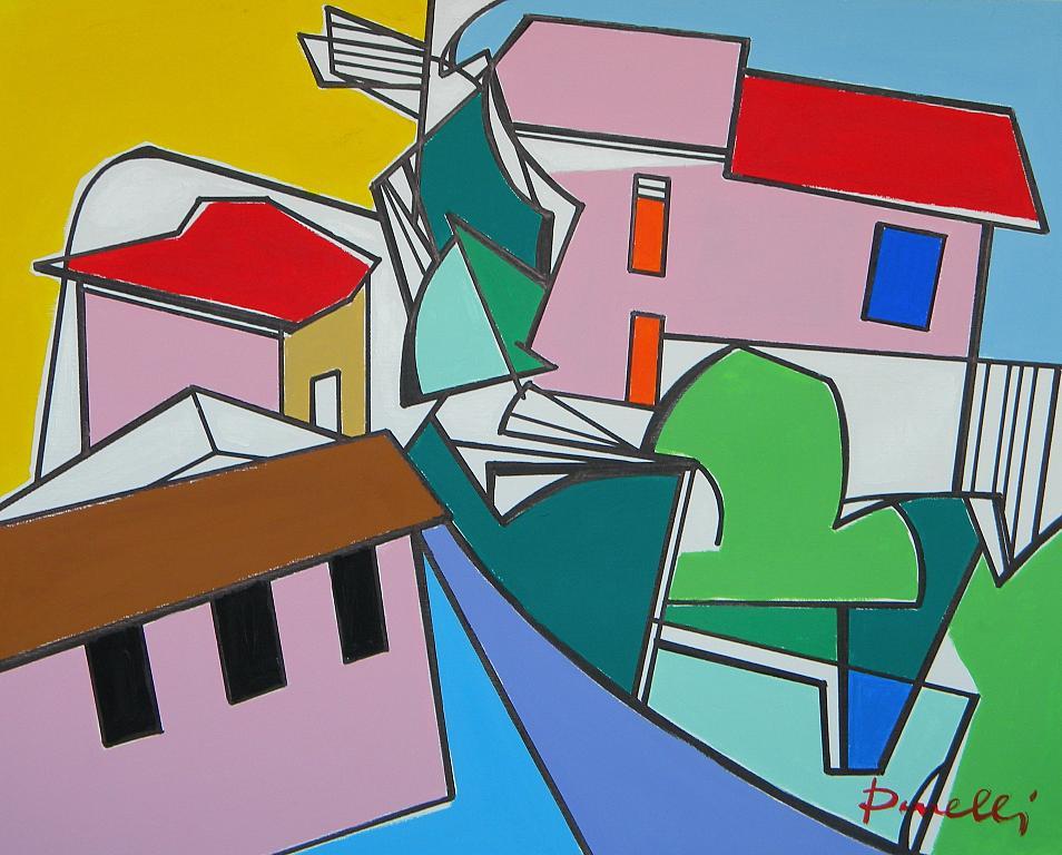 Paesaggio - Gabriele Donelli - Acrilico - 1500 €