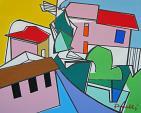 Paesaggio - Gabriele Donelli - Acrilico - 1500€