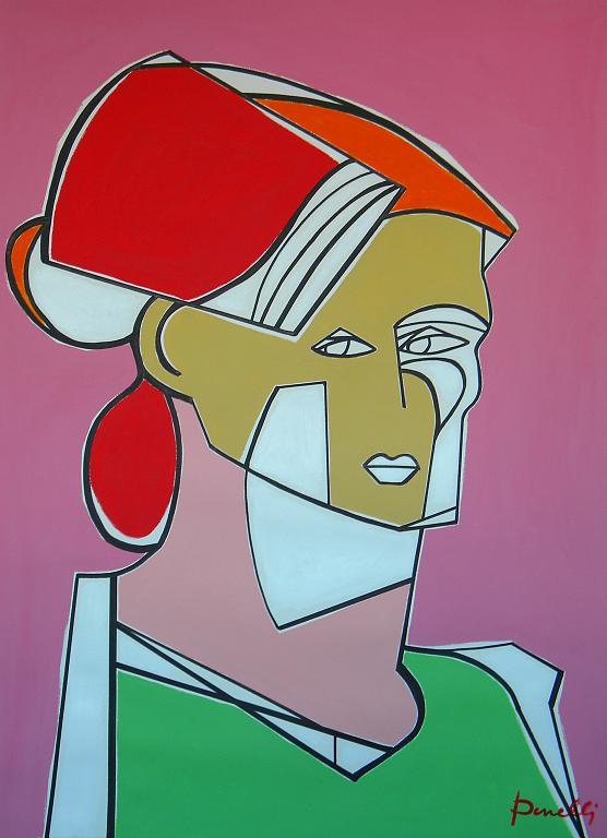 Ritratto di Suzanne Valadon - Gabriele Donelli - Acrilico - 1700 €