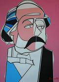 Ritratto di Gustave Flaubert - Gabriele Donelli - Acrilico - 1900€
