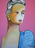 Ritratto di ragazza - Gabriele Donelli - Pastello e acrilico - 2000€