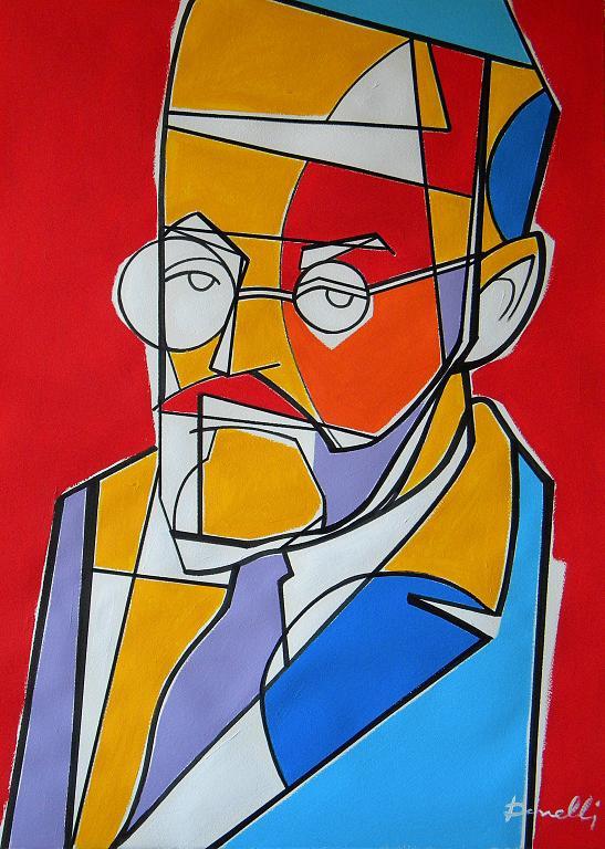 Ritratto di Henri Matisse - Gabriele Donelli - Acrilico - 2100 €