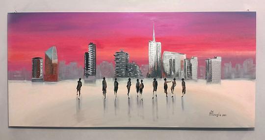 Milano Lifestyle -  MAURIZIO MISSAGLIA - Acrilico