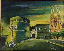 Ricordi di Spagna - Giuseppe IARIA - Acrilico - 230€