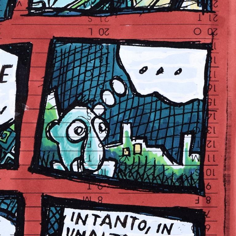 Dingo 1 - Lucio Forte - Stampa digitle su carta calandrata 250 g. - 69 €