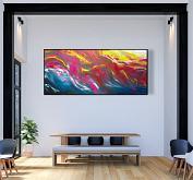 Imaginary landscape, 200x90 cm - Davide De Palma - Acrilico - 850€