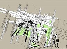 Wireframe Science-Fiction - Lucio Forte - Digital Art - 89€