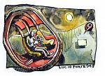 Oniric - Lucio Forte - Acquerello, china e acrilico su carta