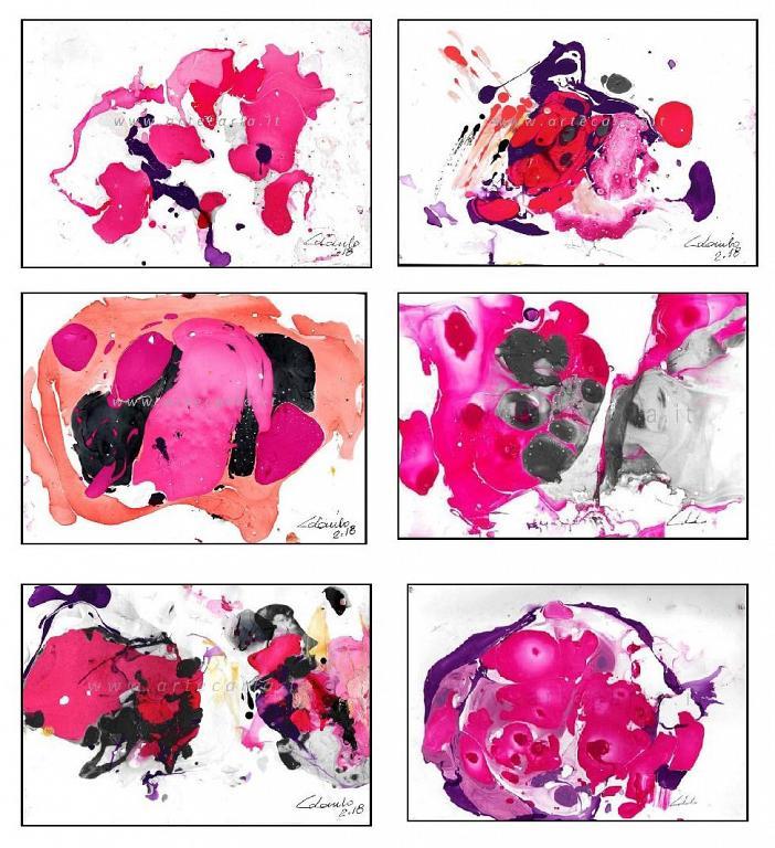 Serie Emozioni in rosa - PREZZO SPECIALE  - Carla Colombo - smalto  - 15,00 €