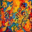 Pentagramma nel colore 2 - Marisa Milan - Acrilico