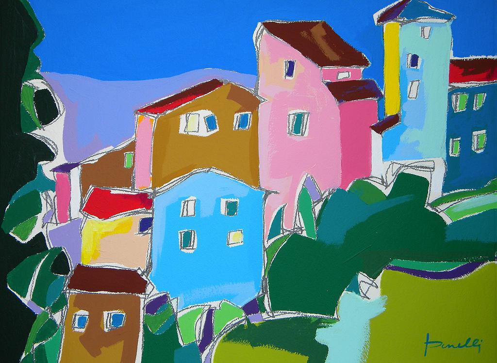 Paesaggio - Gabriele Donelli - Acrilico - 1100 €