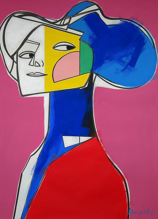 Ritratto di Emilie Floge - Gabriele Donelli - Acrilico - 1300 €