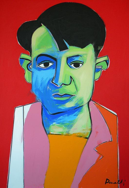 Ritratto di Pablo Picasso - Gabriele Donelli - Acrilico - 1800 €