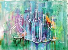 Vuoti a rendere - Carla Colombo - olio e acrilico