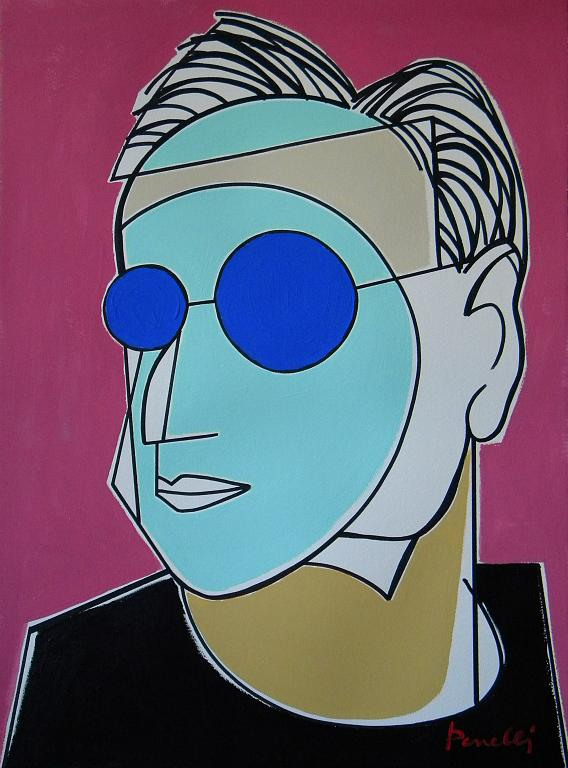 Ritratto di Frank Owen Gehry - Gabriele Donelli - Acrilico - 1400 €