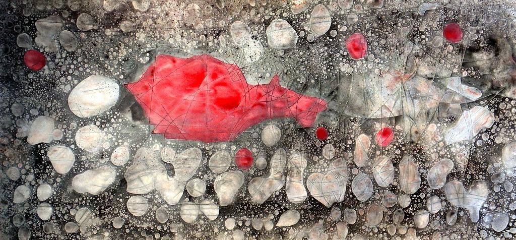 In the depths of the soul  - Massimo Di Stefano - mista su polistirene