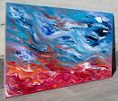 Restless calm II, 100x60 cm - Davide De Palma - Olio - 1000 euro