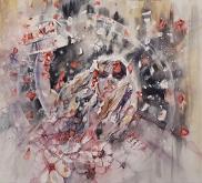 Soffio della fortuna - Ruzanna Scaglione Khalatyan - Acquerello